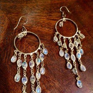 Vintage Hoop Drop Earrings FUN!